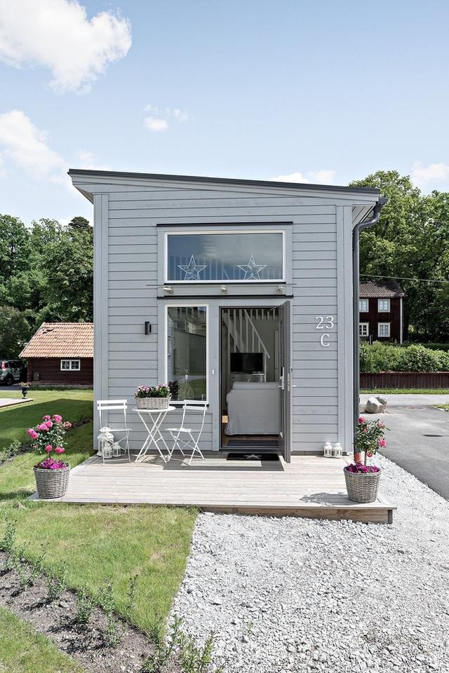 Ngôi nhà nhỏ rộng vỏn vẹn 19m² vẫn hiện lên xinh xắn với đầy đủ tiện nghi, ai yêu thích cuộc sống độc lập cũng thích - Ảnh 4.