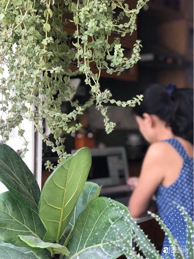 Căn hộ nhỏ xinh sở hữu góc nào cũng đầy cây và hoa của nữ giảng viên đại học Bách Khoa Hà Nội - Ảnh 23.
