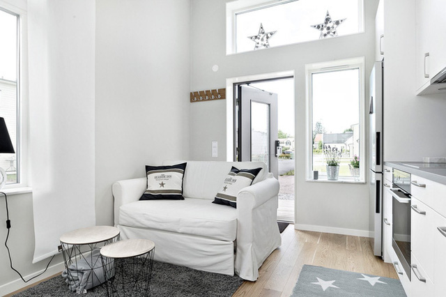 Ngôi nhà nhỏ rộng vỏn vẹn 19m² vẫn hiện lên xinh xắn với đầy đủ tiện nghi, ai yêu thích cuộc sống độc lập cũng thích - Ảnh 7.