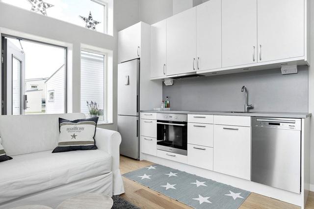 Ngôi nhà nhỏ rộng vỏn vẹn 19m² vẫn hiện lên xinh xắn với đầy đủ tiện nghi, ai yêu thích cuộc sống độc lập cũng thích - Ảnh 8.