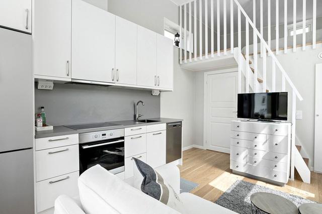 Ngôi nhà nhỏ rộng vỏn vẹn 19m² vẫn hiện lên xinh xắn với đầy đủ tiện nghi, ai yêu thích cuộc sống độc lập cũng thích - Ảnh 9.