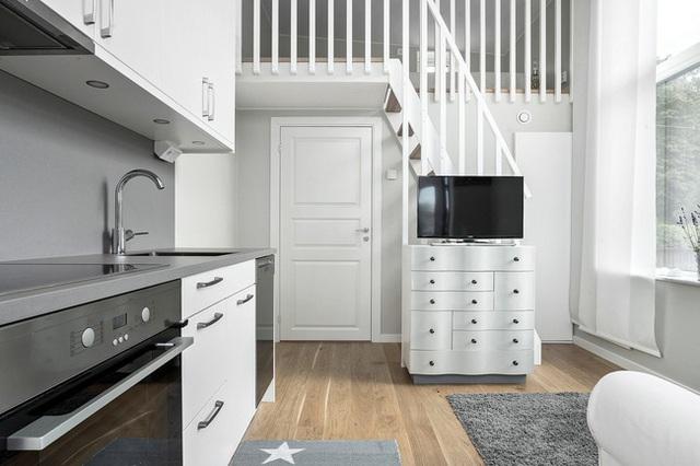 Ngôi nhà nhỏ rộng vỏn vẹn 19m² vẫn hiện lên xinh xắn với đầy đủ tiện nghi, ai yêu thích cuộc sống độc lập cũng thích - Ảnh 10.