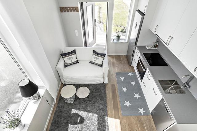 Ngôi nhà nhỏ rộng vỏn vẹn 19m² vẫn hiện lên xinh xắn với đầy đủ tiện nghi, ai yêu thích cuộc sống độc lập cũng thích - Ảnh 11.