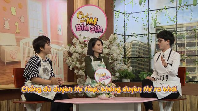 Ngọc Lan choáng khi Trang Trần nói: Có chồng đi ngoại tình, việc đầu tiên phải vỗ tay - Ảnh 1.