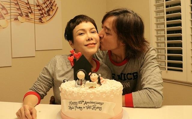 Vợ chồng danh hài Việt Hương 15 năm bên nhau - Ảnh 3.
