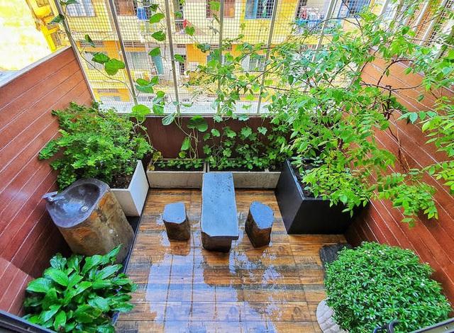 380 triệu đồng giúp cải tạo căn hộ 10 năm tuổi như rộng gấp đôi - Ảnh 8.