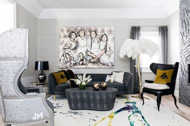 Những mẫu phòng khách gia đình khiến bạn chỉ muốn rinh ngay về đặt vào nhà mình - Ảnh 4.