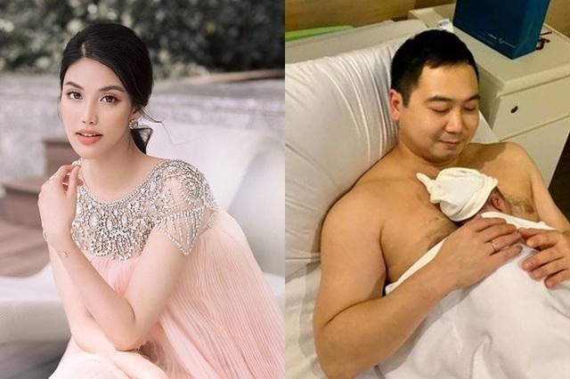 Những mỹ nhân Việt sinh con đầu lòng năm 2019 - Ảnh 1.
