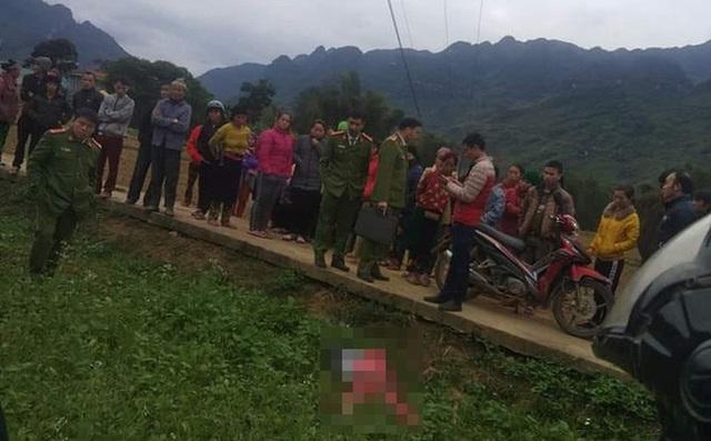 Cô gái trẻ tử vong bất thường giữa cánh đồng ở Hà Giang - Ảnh 2.