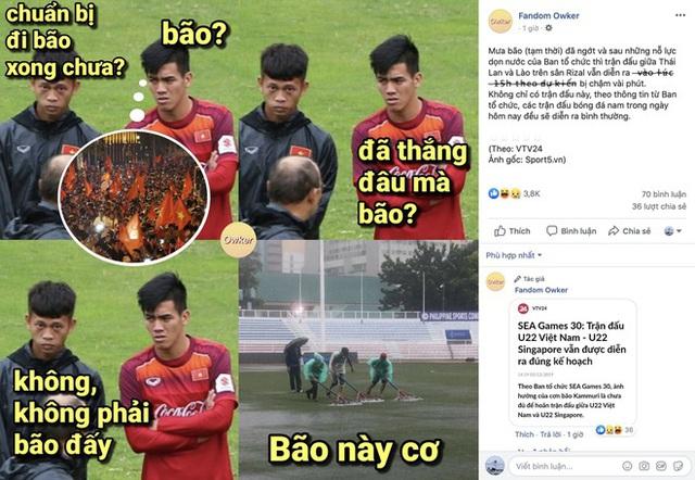 U22 Việt Nam - Singapore: Bùi Tiến Dũng dự bị - Ảnh 13.