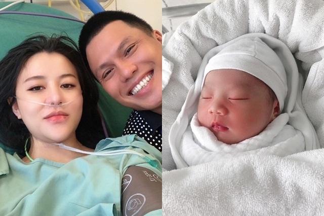 Những mỹ nhân Việt sinh con đầu lòng năm 2019 - Ảnh 7.