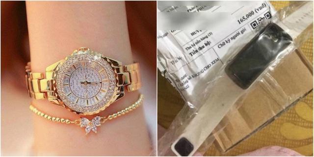 Đặt đồng hồ sang chảnh, nhận về đồng hồ nhựa, cô gái lên mạng than liền bị mắng - Ảnh 3.