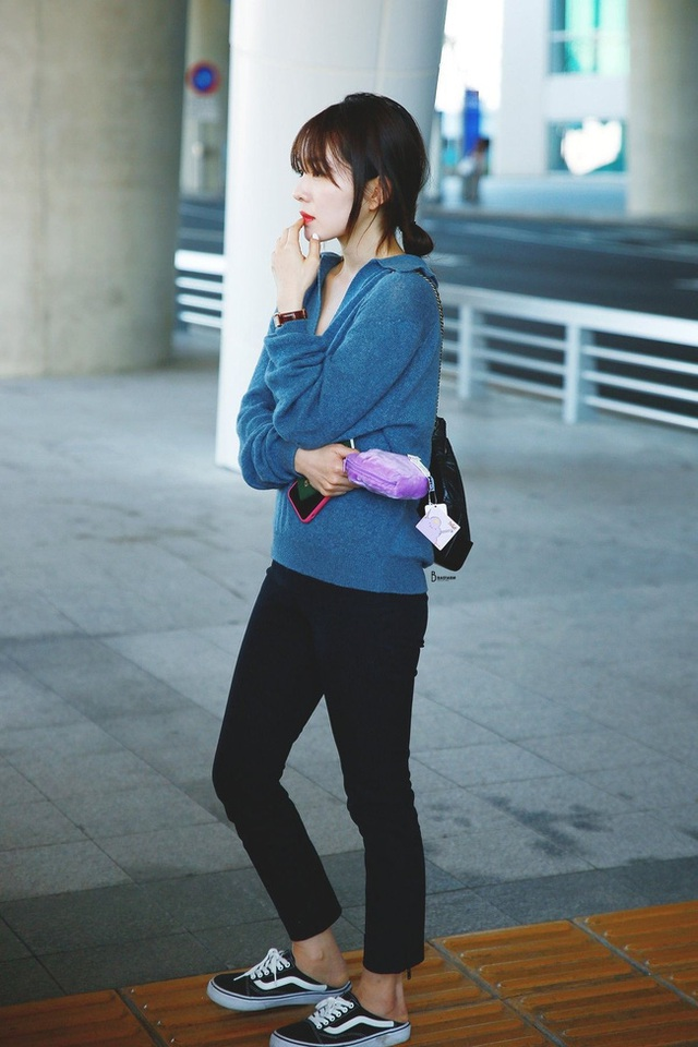 11 ý tưởng diện áo len từ Irene (Red Velvet): Toàn đơn giản mà sao vẫn thanh lịch và thời thượng đến thế! - Ảnh 6.