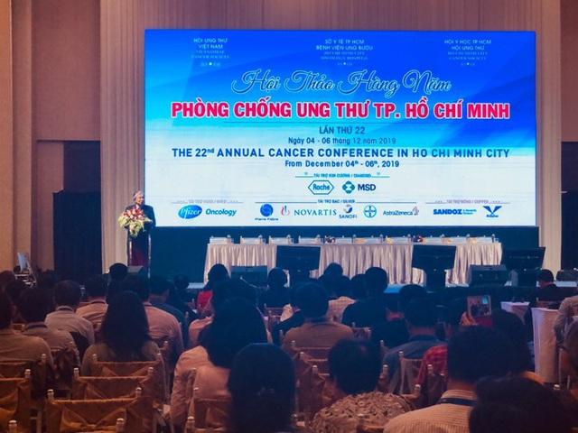 Hội thảo phòng chống ung thư TP Hồ Chí Minh lần thứ 22 - Ảnh 1.