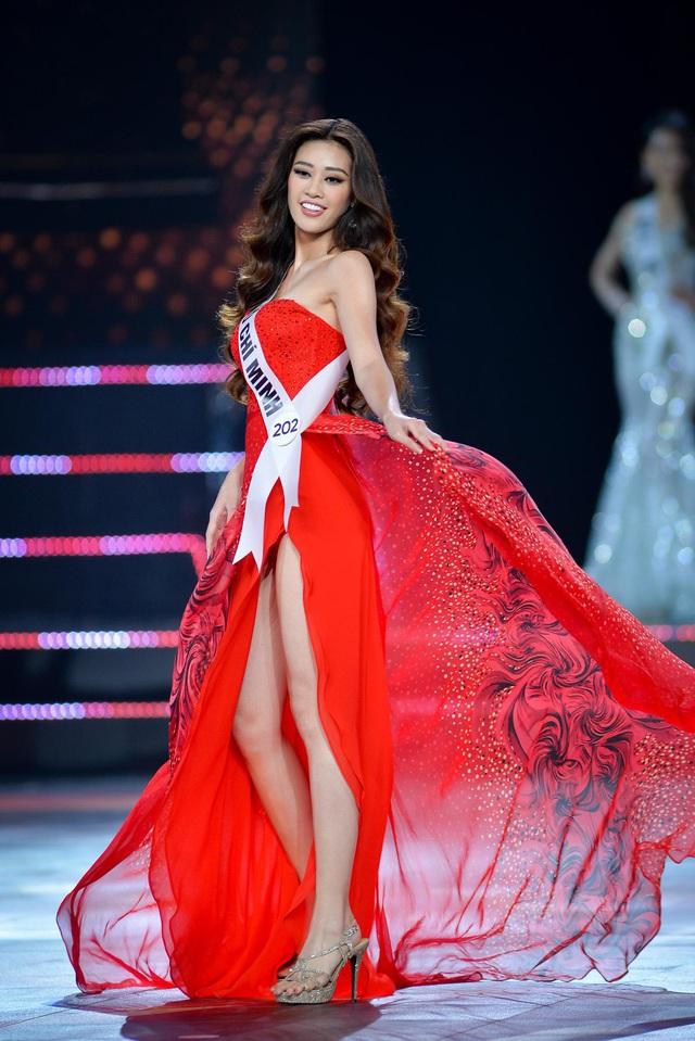 Ba thí sinh catwalk đẹp nhất ở Hoa hậu Hoàn vũ Việt Nam 2019 là ai?  - Ảnh 1.