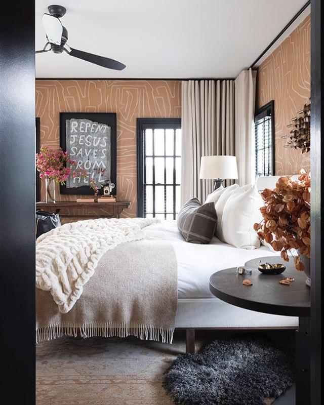11 cách biến phòng ngủ thành không gian lãng mạn và siêu ấm áp khi đông về - Ảnh 2.