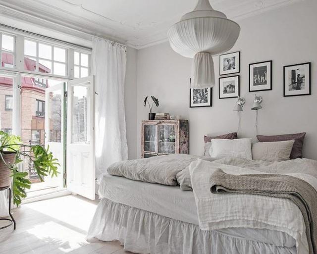 11 cách biến phòng ngủ thành không gian lãng mạn và siêu ấm áp khi đông về - Ảnh 3.