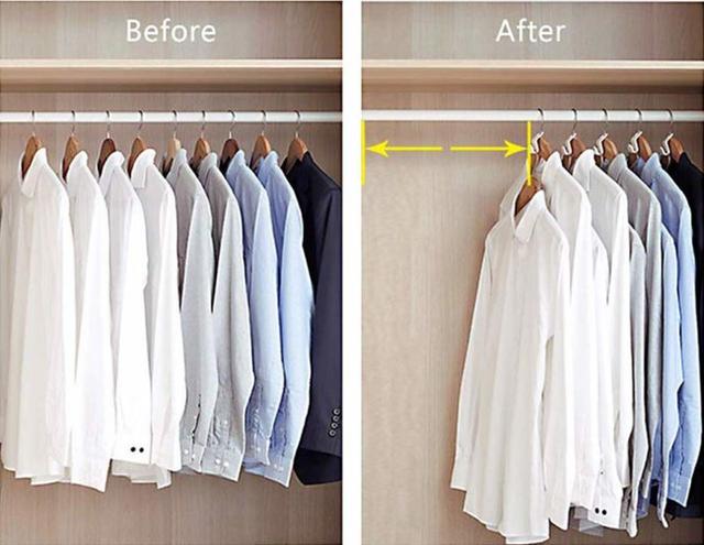 9 ý tưởng tổ chức tủ quần áo để giúp bạn không phải đau đầu mỗi khi muốn mua 1 món đồ mới mà lo không có chỗ cất - Ảnh 1.