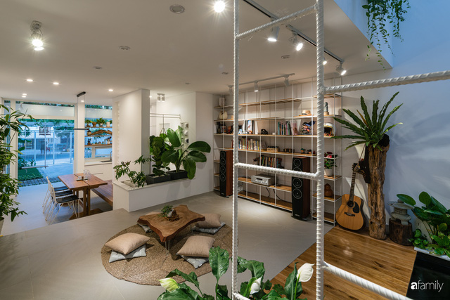 Ngôi nhà nhỏ trong lành và duyên dáng với cây xanh thân thiện của cặp vợ chồng mới cưới ở TP. Đà Nẵng - Ảnh 12.