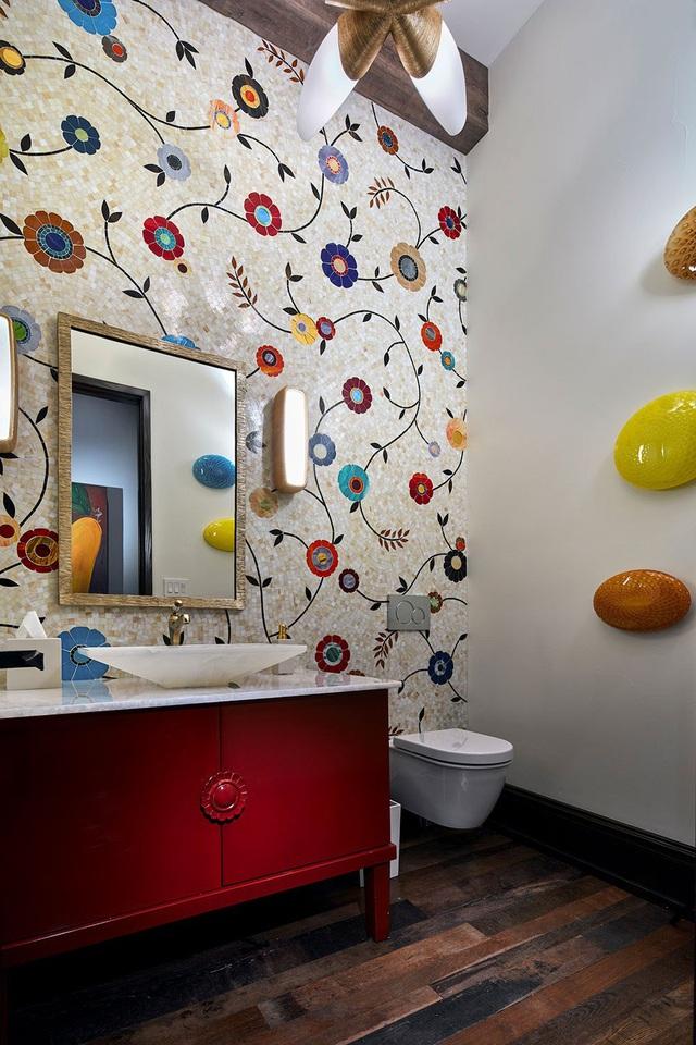Những mẫu bồn rửa tay độc đáo cho phòng tắm gia đình thêm thu hút - Ảnh 12.