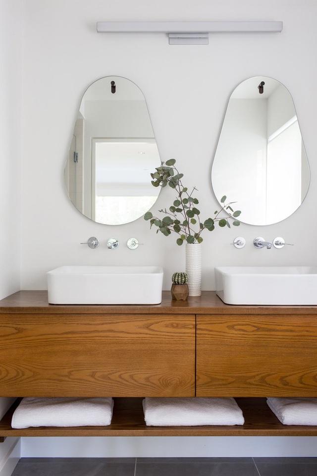 Những mẫu bồn rửa tay độc đáo cho phòng tắm gia đình thêm thu hút - Ảnh 13.