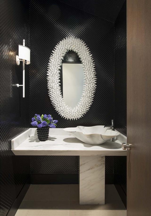 Những mẫu bồn rửa tay độc đáo cho phòng tắm gia đình thêm thu hút - Ảnh 14.