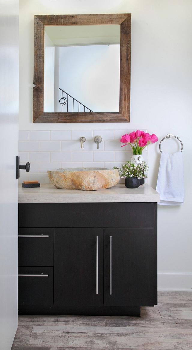 Những mẫu bồn rửa tay độc đáo cho phòng tắm gia đình thêm thu hút - Ảnh 15.