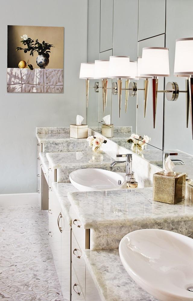 Những mẫu bồn rửa tay độc đáo cho phòng tắm gia đình thêm thu hút - Ảnh 18.