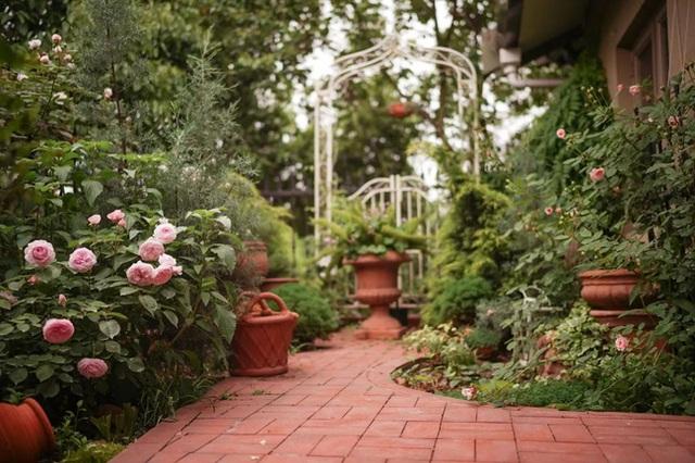 Cặp vợ chồng trẻ biến ngôi nhà đổ nát thành không gian sống hoa nở bốn mùa - Ảnh 18.