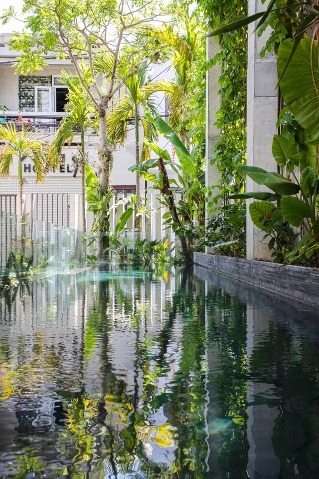 Ngôi nhà góc nào cũng như đang đi trong công viên dành cho gia đình 5 người ở Đà Nẵng - Ảnh 19.