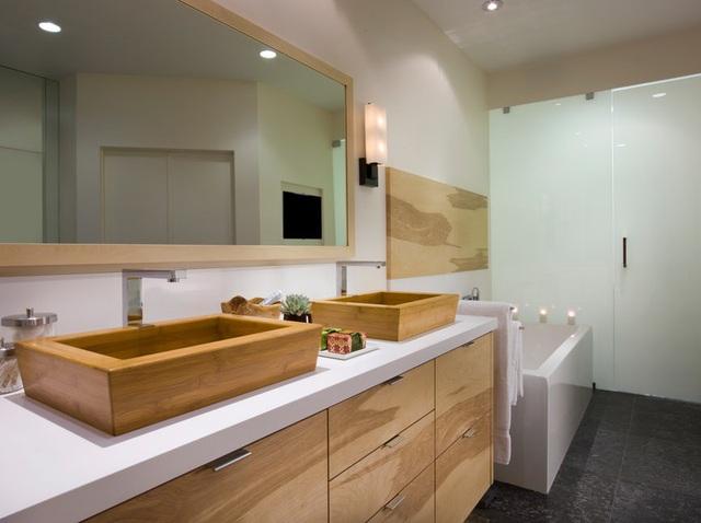 Những mẫu bồn rửa tay độc đáo cho phòng tắm gia đình thêm thu hút - Ảnh 20.