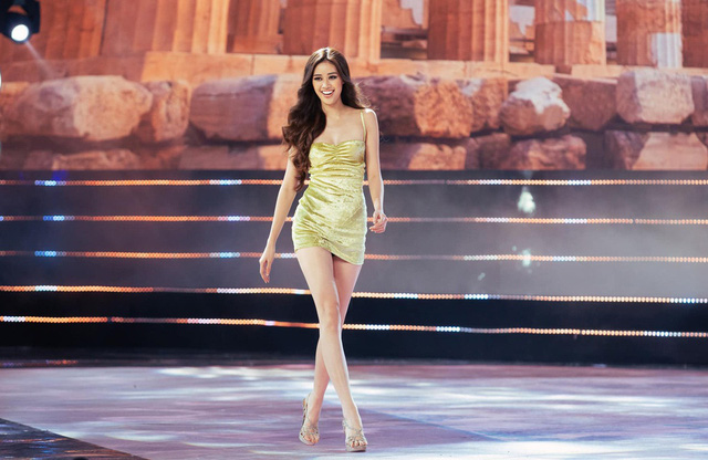 Ba thí sinh catwalk đẹp nhất ở Hoa hậu Hoàn vũ Việt Nam 2019 là ai?  - Ảnh 3.