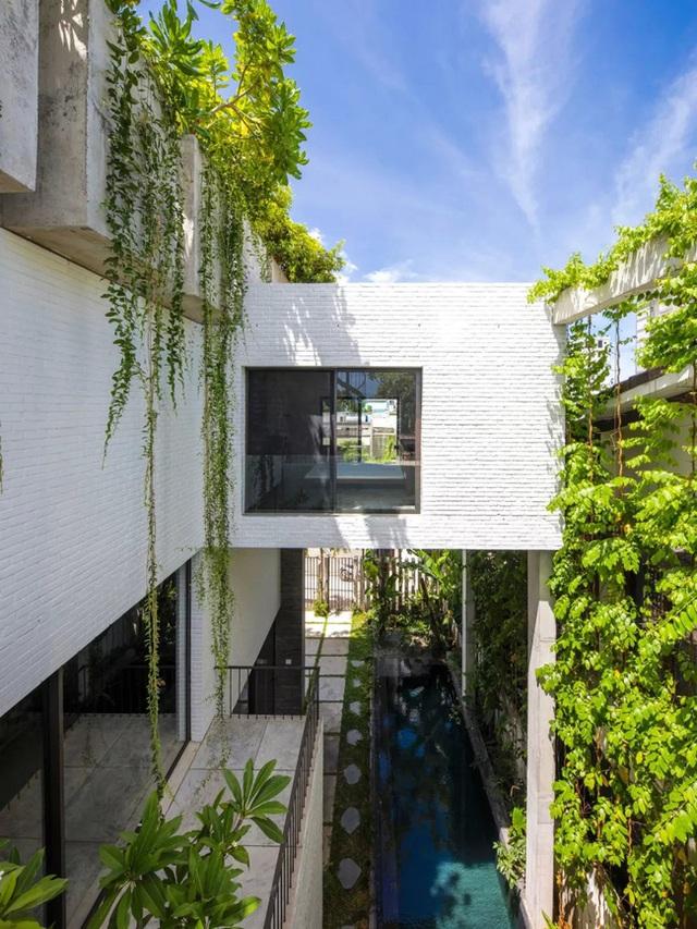 Ngôi nhà góc nào cũng như đang đi trong công viên dành cho gia đình 5 người ở Đà Nẵng - Ảnh 5.