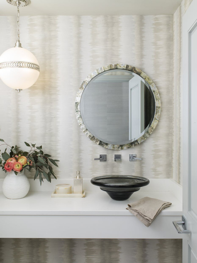 Những mẫu bồn rửa tay độc đáo cho phòng tắm gia đình thêm thu hút - Ảnh 5.
