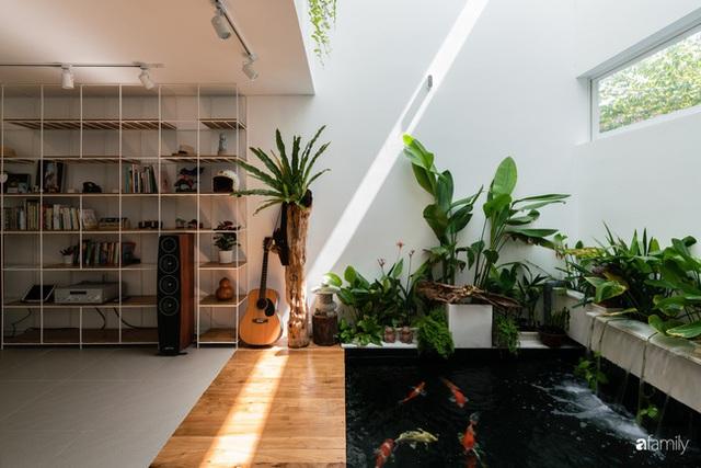Ngôi nhà nhỏ trong lành và duyên dáng với cây xanh thân thiện của cặp vợ chồng mới cưới ở TP. Đà Nẵng - Ảnh 7.