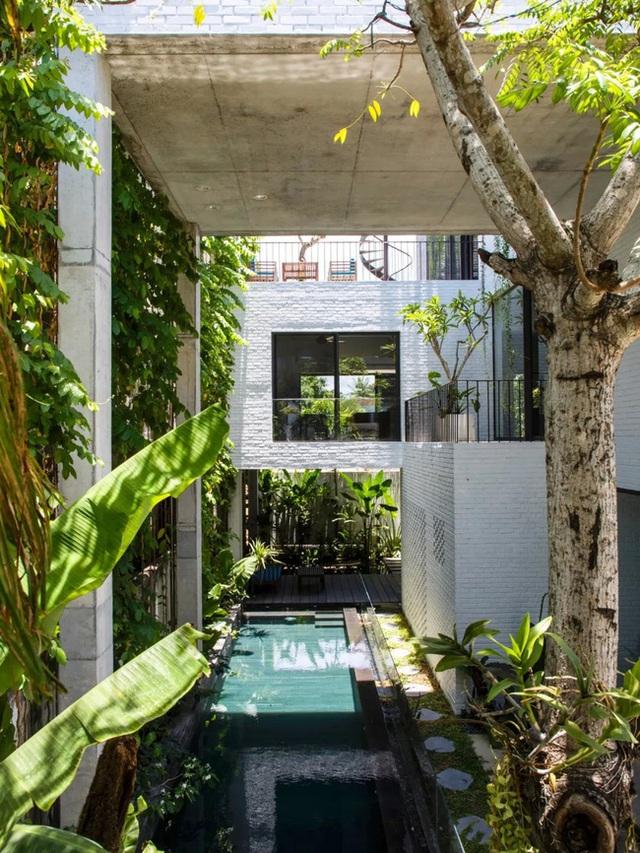 Ngôi nhà góc nào cũng như đang đi trong công viên dành cho gia đình 5 người ở Đà Nẵng - Ảnh 7.