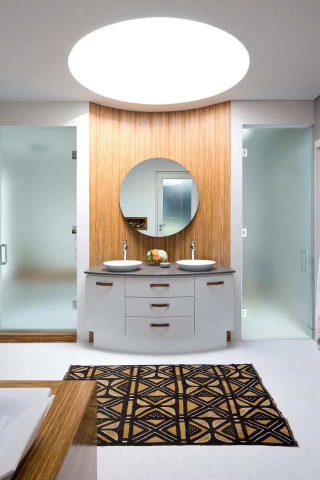Những mẫu bồn rửa tay độc đáo cho phòng tắm gia đình thêm thu hút - Ảnh 7.