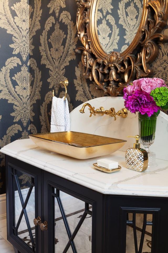 Những mẫu bồn rửa tay độc đáo cho phòng tắm gia đình thêm thu hút - Ảnh 8.