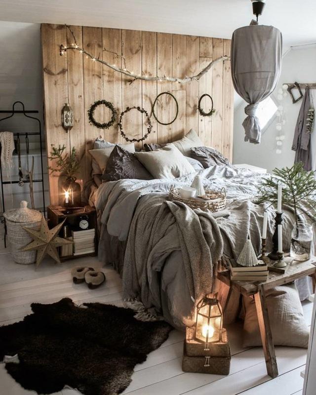 11 cách biến phòng ngủ thành không gian lãng mạn và siêu ấm áp khi đông về - Ảnh 11.