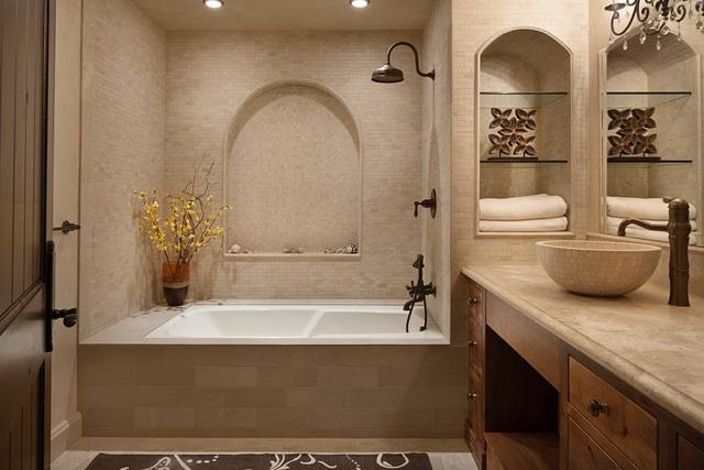 Những mẫu bồn rửa tay độc đáo cho phòng tắm gia đình thêm thu hút - Ảnh 11.