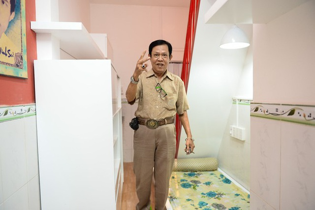 Có nhà hơn 1 tỷ không ở, nhạc sĩ Người phu kéo mo cau sống chật hẹp trong căn nhà chỉ hơn 10 m2 - Ảnh 4.