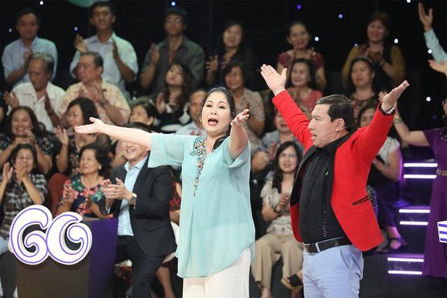 Khán giả bật cười khi MC Lại Văn Sâm bị Quang Thắng gọi là củ Sâm - Ảnh 1.