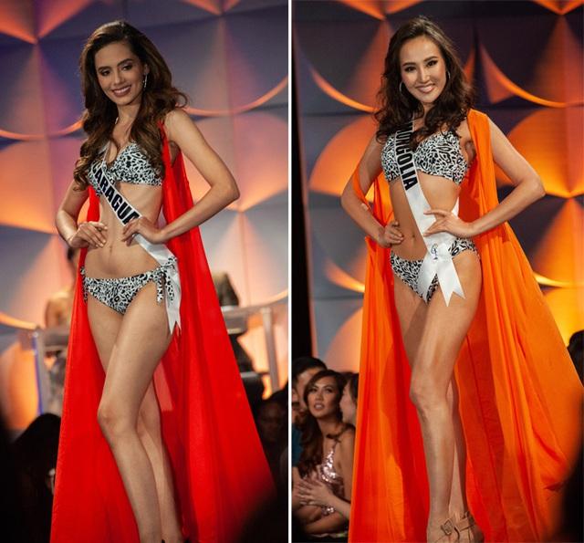Hoàng Thùy đọ dáng với bikini bên các đối thủ Miss Universe - Ảnh 11.