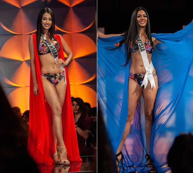 Hoàng Thùy đọ dáng với bikini bên các đối thủ Miss Universe - Ảnh 10.