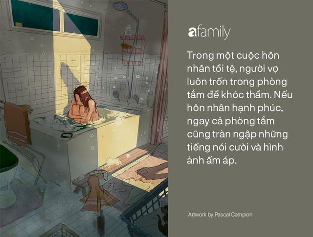 Góc khuất hôn nhân và những sự đổ vỡ gắn liền với nhà tắm: Đôi khi chuyện tưởng như nhỏ xíu lại là điều mấu chốt phá tan tổ ấm - Ảnh 5.