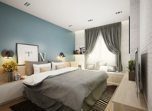 Căn hộ 2 phòng ngủ sở hữu vẻ đẹp tinh tế - Ảnh 6.