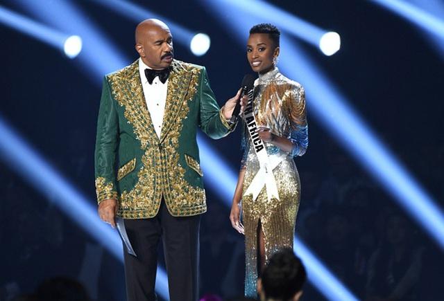 Đường đến vương miện Miss Universe của viên ngọc đen Nam Phi - Ảnh 8.