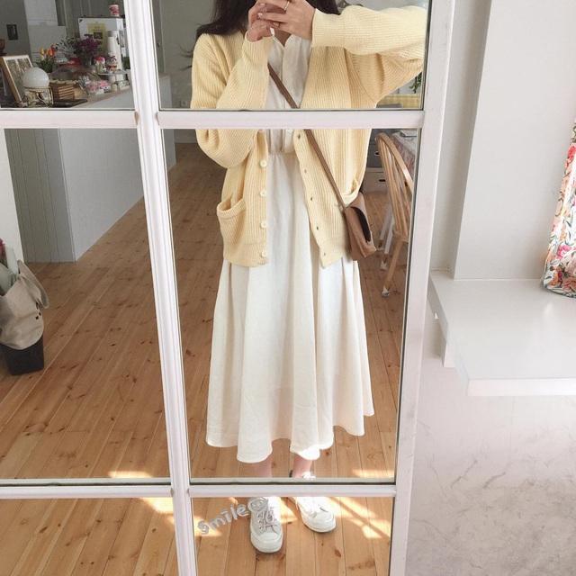 Nghĩ tưởng đơn giản nhưng không phải nàng nào cũng biết 4 mẫu áo khoác kết hợp ăn ý nhất với váy - Ảnh 10.