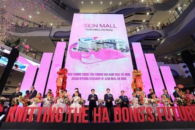 Chính thức khai trương Trung tâm bách hóa tổng hợp và siêu thị AEON Hà Đông - Ảnh 1.