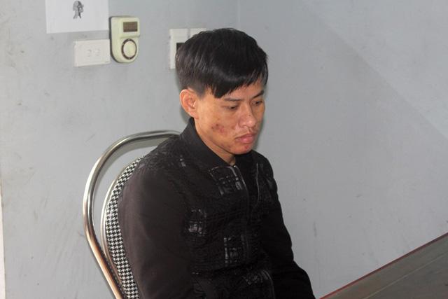 Một trong các đối tượng bị bắt giữ liên quan đến vụ nổ tại gia đình anh Luyên. Ảnh: Đ.Tùy